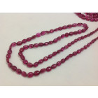 RUBYLITE TOURMALINE PLAIN OVAL