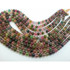 TOURMALINE MULTI PLAIN BEADS