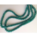 GREEN ONYX FACETTED BEADS